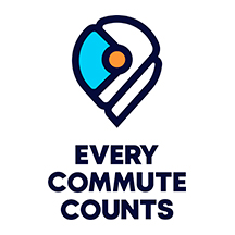 Every Commute Counts Icon.